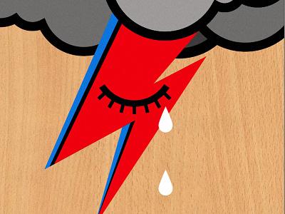 Bowie cloud sad ziggy bowie