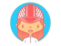 cycling gal