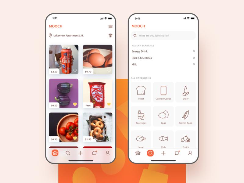 Mooch - iOS App