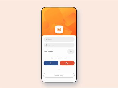 Login Screen Transition iphoneapp app iosapp ui mobileappdesign uxui uxdesign uidesign interfacedesign design