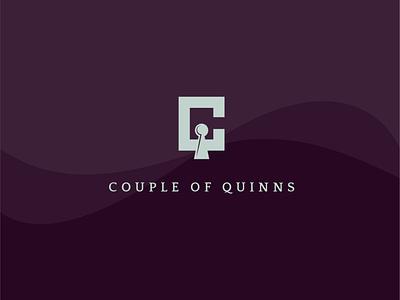Couple of Quinns Branding brand design jewel tones daytonohio dayton ohio icon design brand icon logo design brand logo icon brand identity branding logo brand