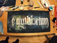Equilibrium Painting