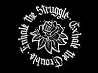 Inhale the struggle, exhale the trouble