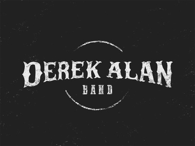 Derek Alan Band kentucky apparel shirt western lettering icon logo music band country