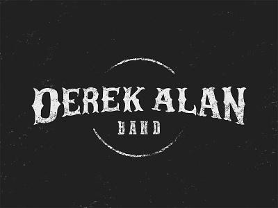 Derek Alan Band kentucky apparel shirt western lettering icon logo music band country