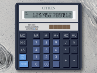 CITIZEN SDC-888X