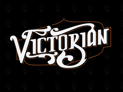 Victorian Type logotype inked inktober calligraphy typography lettering beer type victorian blackletter