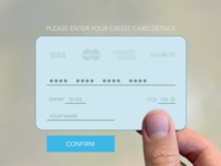 002 - Credit Card Form
