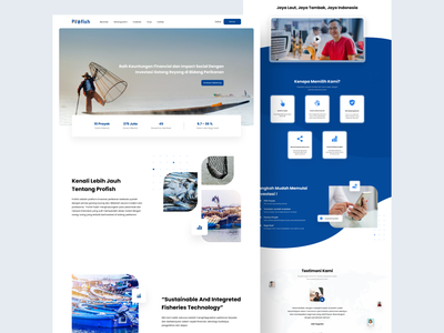 Fishery Investment Startup Website fishery investment uxdesign uidesign website design minimal clean landing page typography website ux ui