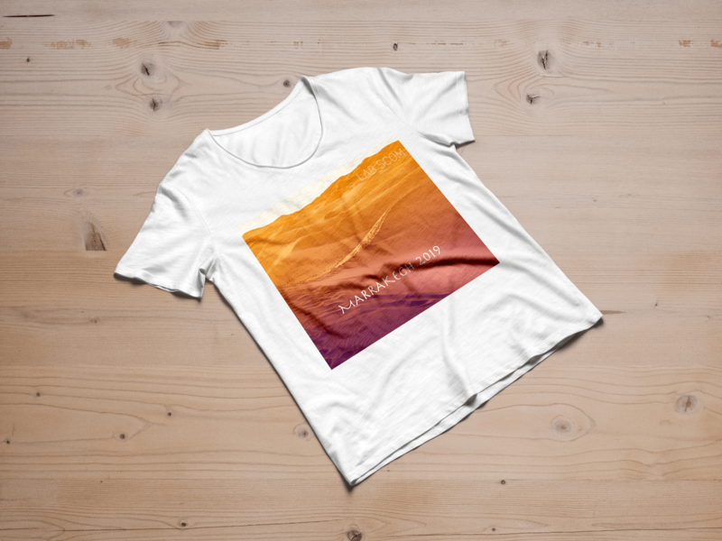 Workshop t-shirt branding logo design photoshop