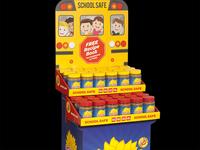 SunButter School Safe Shipper Display