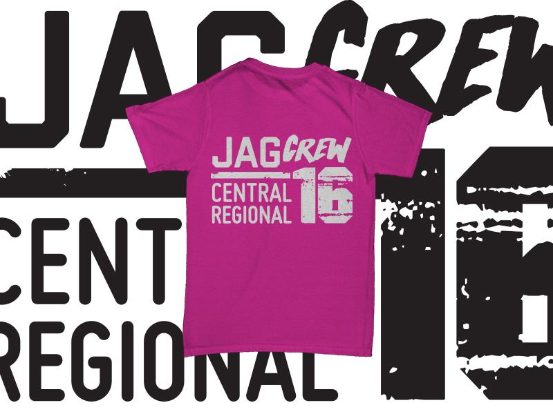 JAG Crew Shirt crossfit fargo fargo distressed 2016 regionals crossfit tshirt