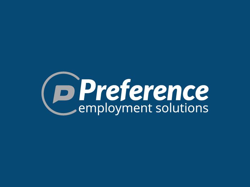 Preference Logo long name speech bubble circle communication icon