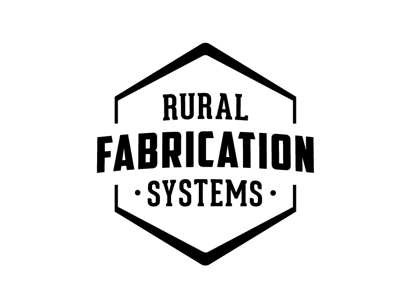 RFS Logo long name black and white welding metal work wood work fabrication