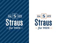 Straus for Men Logo