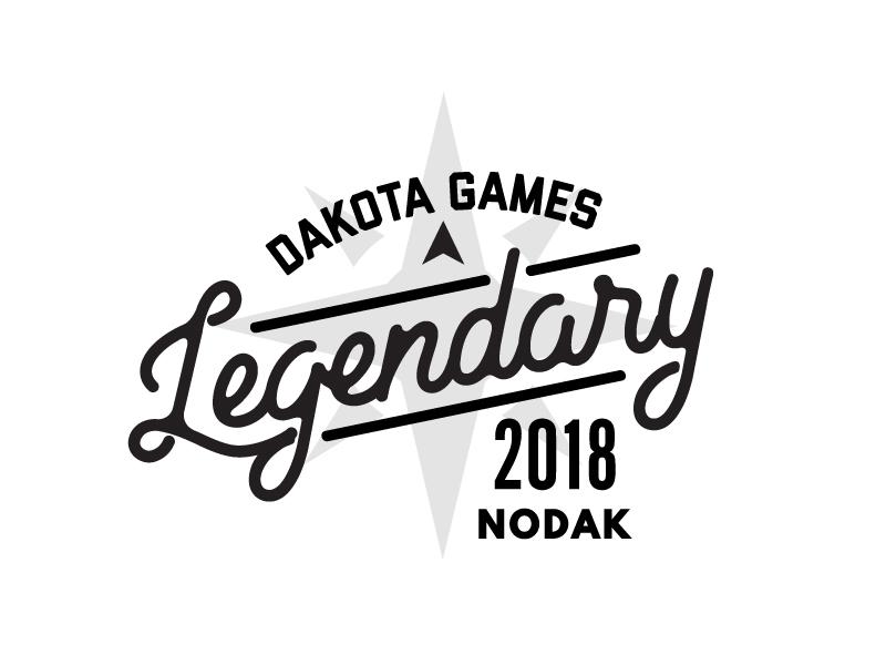 DG Legendary compass rose nodak legendary t-shirt
