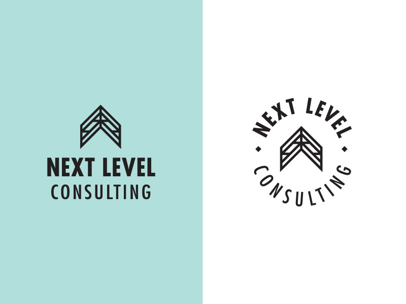 Next Level Consulting next movement direction point arrow consultant logo