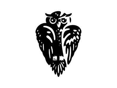 Owl logo logo design negative space logotype logo bird owls owl design