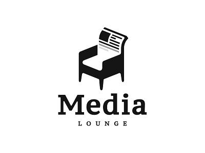 MediaLounge inspiration logotype design logo design logodesign logotype logo negative space logo negative-space negative space negativespace