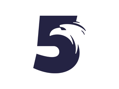 5 Eagle logo logo negative-space negative space logo negative space negativespace bird logo bird eagle logo eagle 5