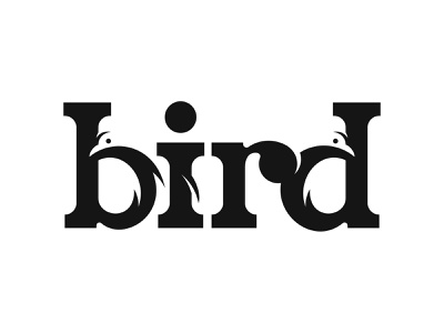 Bird Negative space logo design logotype type logo negative-space logodesign negativespace negative space logo logo design negative space bird logo bird