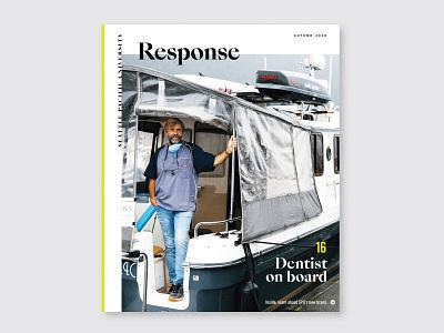 SPU Magazine Redesign redesign illustraiton magazine editorial
