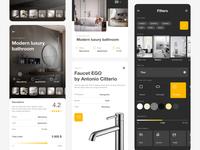 Home Inspiration App - Details