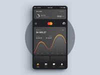 MasterCard Concept App - Transfering Money Process