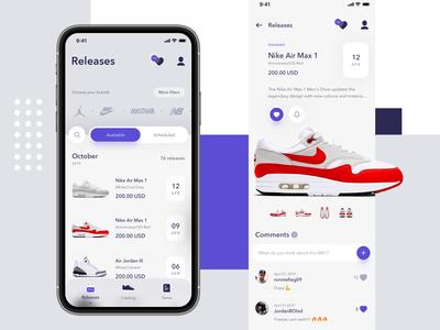 SneakersCrush App - Redesign