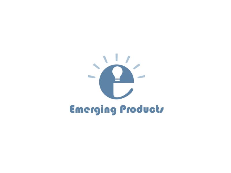 Emerging Products tech logo tech company emerging technology tech portfolio flat illustration vector logo design