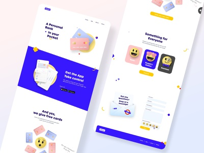 Banking web concept illustration 3d effect cute 3d emoji card banking finance website