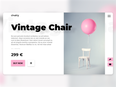 Product page - Daily UI