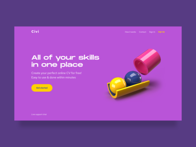 Civi website