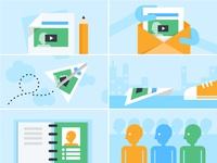 Using Video in Email Illustrations