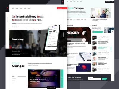 Digital Rebranding Explorations