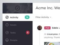Workshift - Activity Screen
