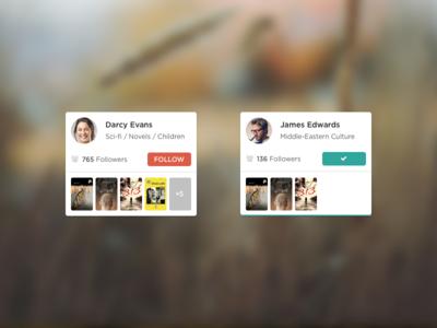 Sign Up Process Pt2 / Follow Profiles