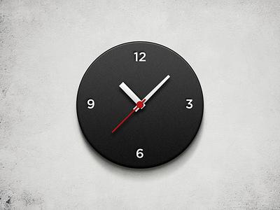 Wall Clock freebie clock time watch wall clock free psd wall