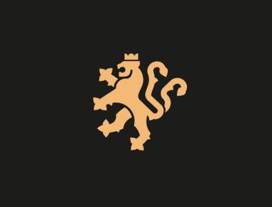 HERALDIC LION LOGO