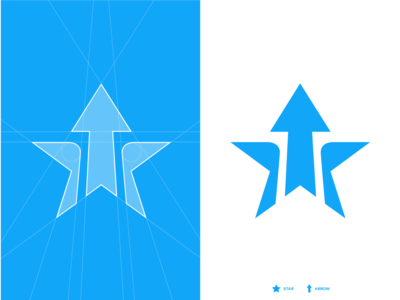ARROW STAR, Logo grid