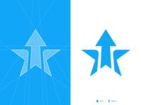 ARROW STAR, Logo grid