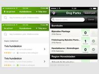 Redesigning dogpark iOS app