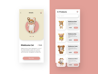 Rilakkuma Store - Mobile Version