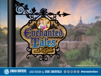 Enchanted Tales with Belle Logo / SIgn Design