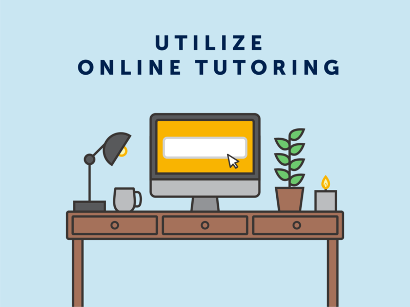 Online Tutoring icondesign icon design desk layout plant computer desk icons tutoring online school classes