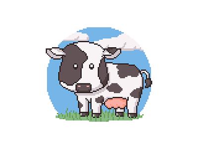 Cow Appreciation Day Pixel Art pixel art pixel cow