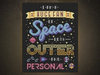 🚀 I am a Huge Fan of Space Both Outer & Personal
