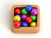 Colourful Balls Icon