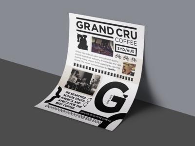 Grand Cru design layout branding typography