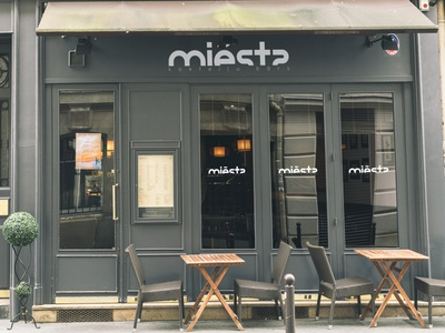 Miẽsts cocktail bar bar cocktail identity brand logo branding designer europe creative dweet design design